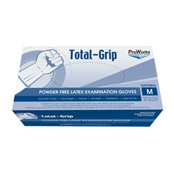 ProWorks® Total Grip™ Latex Examination Gloves - Medium