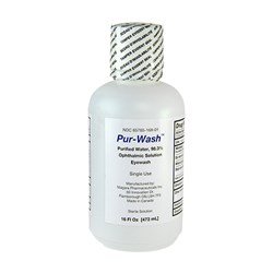 Eyewash Refill Bottle 16 Oz