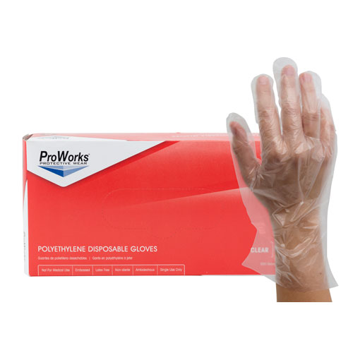 ProWorks Polyethylene Gloves-Small