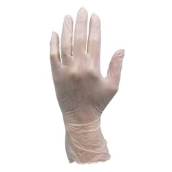 Stretch Vinyl Powder Free Glove-Large