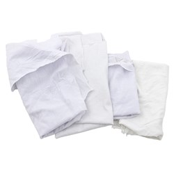 Reclaimed White Towels, 10 lb