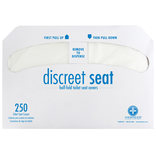 20/250 Grn Seal 1/2 Fold;Toilet Seat Cover EPP