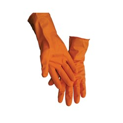 General Purpose Flock Lined Latex Gloves, Small
