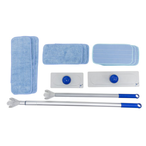 SPHERGO CLEANING KIT (2 POLE, 2 FRM, 9 PADS)