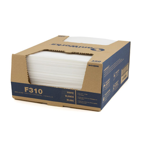 Deluxe Antimicrobial Towels-13x21 White