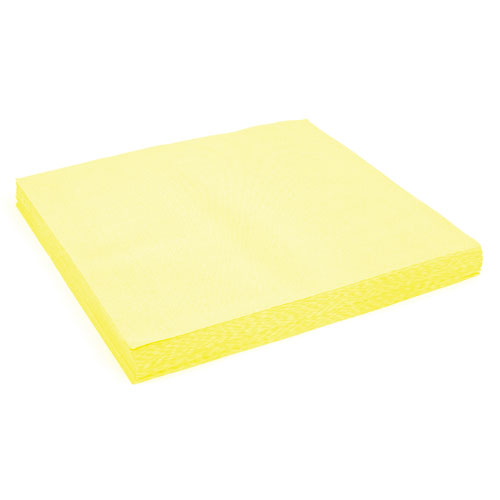 TaskBrand® Topline™ Linen Replacement Napkins-Yellow