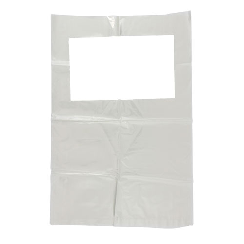 "SCENSIBLE BAGS REFILL WITH STRAPS 13""x14"" 500/CS"