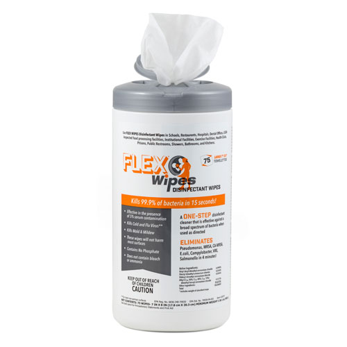 Canister of Flexwipes