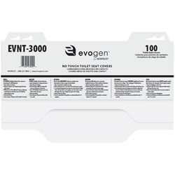 Evogen No Touch Toilet Seat Covers