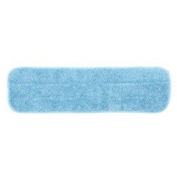 MicroWorks Economy Flat Wet Mop, Blue