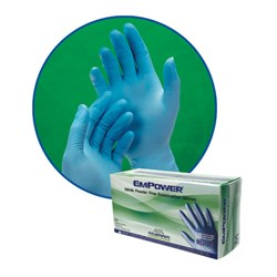 Empower Medium, Glove in Circle  and Box