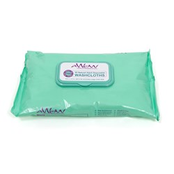 Adult Disposable Washcloths Closed