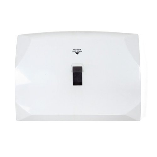Lever Activated Toilet Seat Cover Dispenser