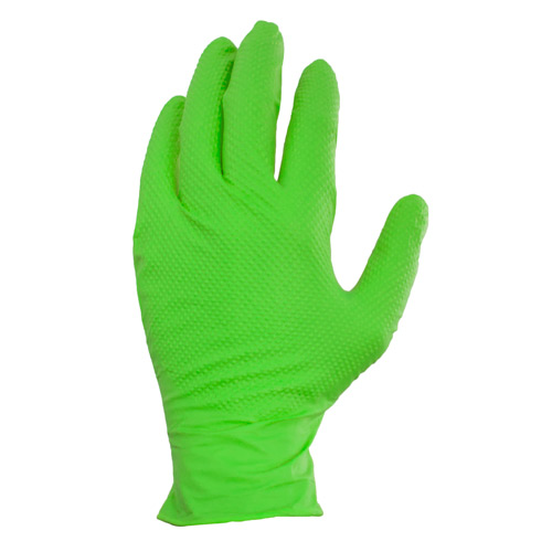 Pyramid Grip, Green, Large, alt